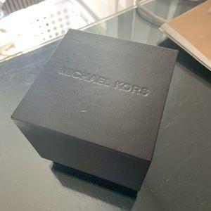 MK wooden watch box